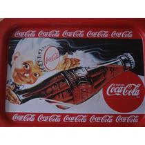 Charola Antigua Coca Cola De Los ´60 Buen Estado Gral.