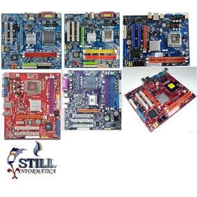 Kit Placa-mãe Lga 775 Ddr2 + Processador Dualcore + Cooler