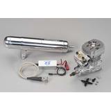 Combo Motor Heli Os Gt15hz A Gasolina Y Pipa Original O S