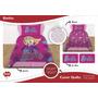 Cubrecama Cover Quilt Barbie Sofia Peppa Minnie Monster High