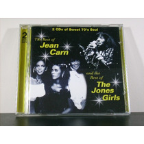 Jean Carn & Jones Girls Best Of Cd Duplo Imp Raro Soul Av8