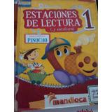 Libro Estaciones De Lectura 1. Editorial Mandioca