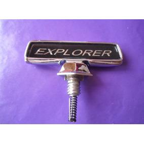 Emblema De Cofre Explorer Ford Camioneta