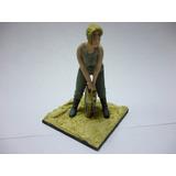 Figura De Plomo De 1/35 - Sold Alemana - Sin Pintar
