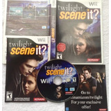 Twilight - Scene It? - Crepusculo - Ingles / Nintendo Wii