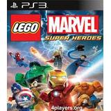 Lego Marvel Super Heroes Ps3 Psn Envio Imediato
