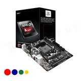 Kit Mother Asrock + Procesador Amd Apu A10 X4 7860k