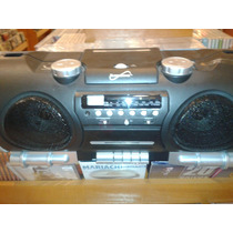 Radiograbadora Portable Mp3/cassette Fm Am Radio Usb Sd Otro