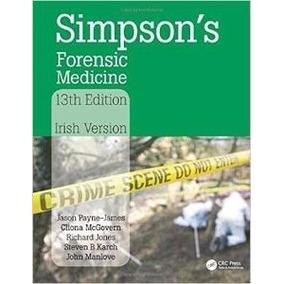 Medicina Forense De Simpson, 13ª Edición Jason Payne Digital