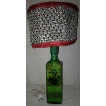 Lampara Reciclable Hecha A Mano