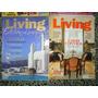 Lote De Revistas Living, Casa & Jardin Y Mi Casa
