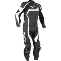 Macacão Tutto Racing Preto Com Branco - 2 Peças !!