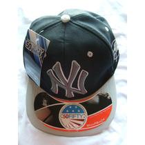 Bonê Ny Yankees 50 Fifty Snapback Importado Usa Aba Reta