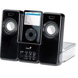 Bocina Genius Ge31730774100 P/ipod Itempo 150- Negro