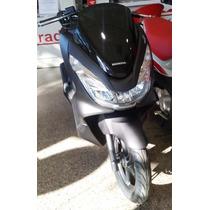 Honda Pcx 150 0km Negro Y Rojo 2017 En Motorrader!!