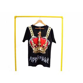 Remera Swag Corona Crown Cadenas Chain Leon Applehead 2017