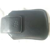 Blackberry Funda Clip Cuero Original