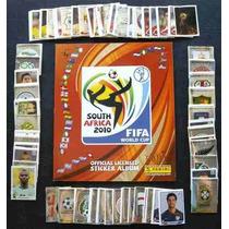 Estampas Panini Mundial Sudafrica 2010 100% Originales.