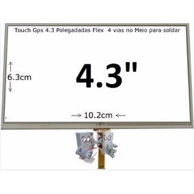 Tela Touch Screen Para Gps 4.3 Foston , Midi, Discovery, Bak
