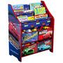Disney - Cars Libro Y Organizador Del Juguete