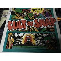 Vinilo Snap Cult Of Snap Remix Maxi Alemán 1990 Dj90 90s