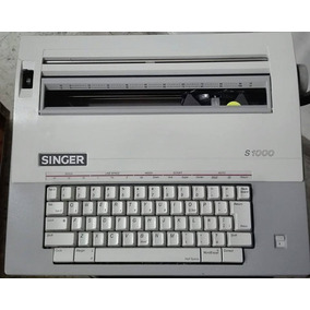 Maquina De Escribir Marca Singer Modelo S1000 Perfecto Estad