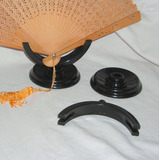 M65 Soporte Para Abanico En Plastico Duro Negro Desarmable
