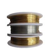 Hilo Alambre Para Bisuteria Color.oro & Plata. 2mts A 15 Mts