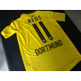 Camiseta Titular Dortmund 2016 2017 Reus Aubameyang