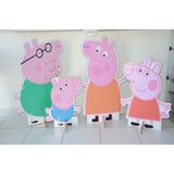 Família Peppa Pig Displays, Totem De Chão Personalizado