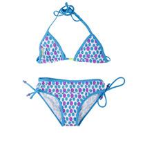 Traje De Baño Crocs Bikini Sky Blue Para Niñas