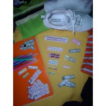 220 Etiquetas Personalizadas Marcar Ropa Guarderia