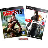 Far Cry 3 + Just Cause 2 Ue Ps3 Pack Doble Lgames