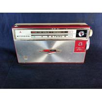 Rádio Portátil Mitsubishi 8 Transistor Modelo 8x 584a Antigo