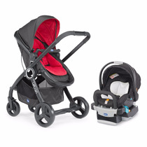 Coche Travel System Ultraliviano Chicco Urban Plus Duo +base