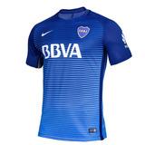 Camiseta Boca 3era Equipación 2017 Azul Original 100%