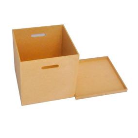 Caixa Para Disco / Lp / Vinil Mdf Cru Oferta Pronta Entrega