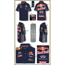 Playera Polo Red Bull F1 Functional Autentica Pepe Jeans