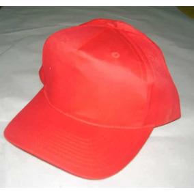 Gorro China Algodon Poliester Rojo Venta X Paq De 5 Unidades