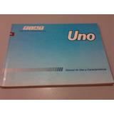 Libro Manual 100% Original De Usuario: Fiat Uno, Año 1997