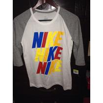Blusa Camiseta Nike Nueva Para Mujer Talla S Chica Gimnasio
