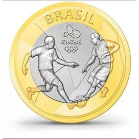 3 Moedas Olímpicas 2016 - Olimpíadas Rio 2016