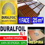 Manta Termica Subcobertura Telhado Duralfoil 1 Face 25 M²