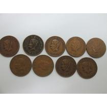 Lote De Monedas Josefas 5 Centavos De 1943 A 1954