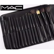 Set Estuche De 15 Brochas Maquillajes Mac Al Mayor Y Detal