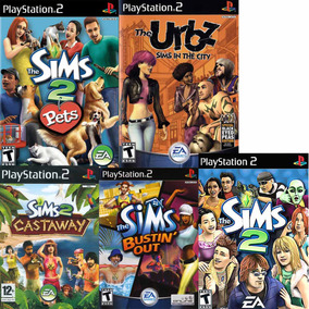 Patch Jogo The Sims Collection Para Ps2 Playstation 2