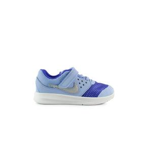 Tenis Nike Downshifter Jr - Azul Con Blanco 869971-400