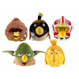 Angry Birds Star Wars Peluches 13 Cm Con Sonido Wabro Filsur