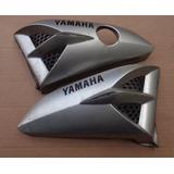 Aba Do Tanque Yamaha Ybr 125 Prata