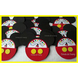Silueta Mickey Minnie Mouse Invitaciones De Foami